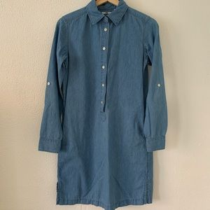 UNIQLO Chambray Shirt Dress